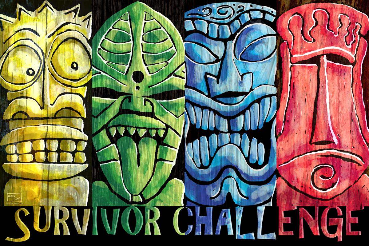 Survivor Challenge Tiki