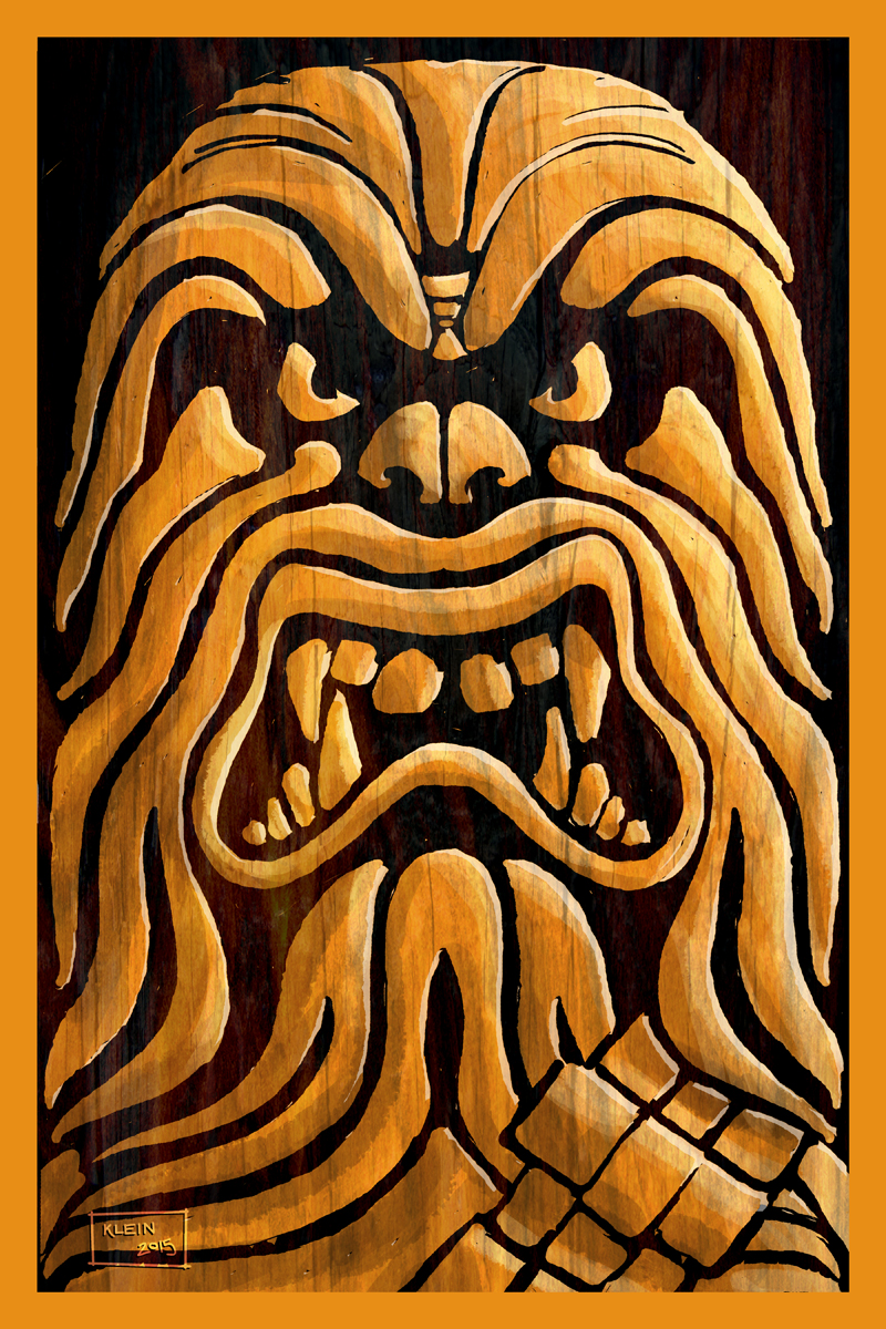 Star Wars Tiki - Chewbacca