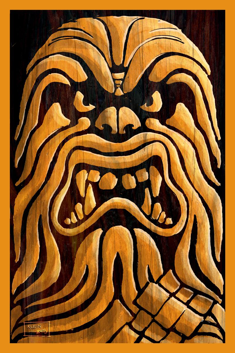 Star Wars Tiki - Chewbacca