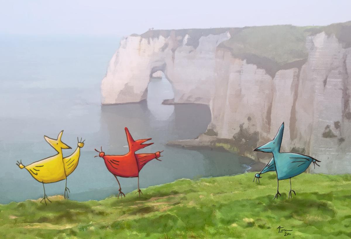 Pteranadons Over Dover